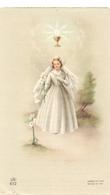 Devotie Dévotion - Communie Communion - Georgette Beirnaert - Zomergem 1958 - Communion