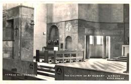 CPA N°22081 - ACROSS THE CHANCEL - THE CHURCH OF ST. HUBERT'S - WARLEY - Sonstige