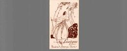 REF1510-2018 CARTE PARFUMEE LASEGUE PARIS POUDRES CREMES FARDS - Perfume Cards