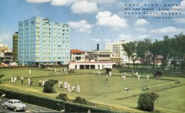 SOUTH AFRICA - Park View Hotel Durban Advertising PC  - Playing Bowls Etc - South Africa