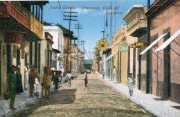 VENEZUELA - Puerto Cabella - Calle Del Comercia - Superbly Animated View - Venezuela