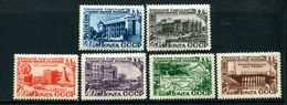 Russia 1950 Mi 1432-1437 MNH OG ** - 1923-1991 USSR