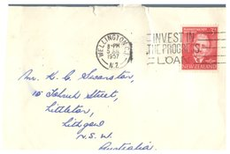 (108) New Zealand 3 Small Size Cover (2 Posted To Australia) - New Zealand
