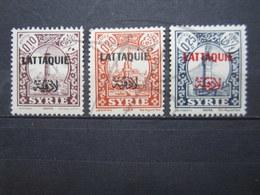 VEND BEAUX TIMBRES DE LATTAQUIE N° 20 - 22 , X !!! - Lattaquié (1931-1933)