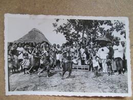 Dahomey . Danse Pres De Porto Novo  . Femmes Sein Nu - Dahomey