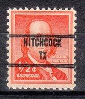 USA Precancel Vorausentwertung Preo, Locals Texas, Hitchcock 853 - Vereinigte Staaten