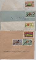 ILE MAURICE  LOT DE 5  ENVELOPPES TIMBREES - Mauritius (1968-...)