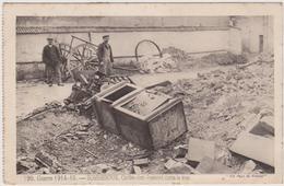CARTE POSTALE   SOMMESOUS 51  Coffre Fort éventré Dans La Rue - Francia