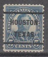 USA Precancel Vorausentwertung Preo, Bureau Texas, Houston 637-51 - Vereinigte Staaten