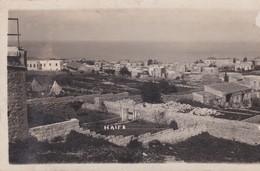 Carte Photo  9X14.  PALESTINE .  HAIFA . Vue Générale - Palestine