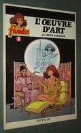 FRANKA 2 : L'oeuvre D'art //Henk Kuijpers - EO Dupuis 1982 - TBE - Bücher, Zeitschriften, Comics