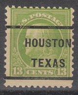 USA Precancel Vorausentwertung Preo, Locals Texas, Houston 232, Perf. 11x11, Better Stamp - Vereinigte Staaten
