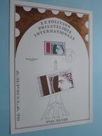 EXPO PHILATELIQUE INT. - ARPHILA 75 / Charles Bridoux ( Stamp 17 Mai 1975 / Voir Photo ) Format A4 - N° 26 De 35 Exempl. - FDC