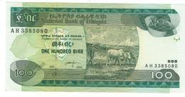 Ethiopia 100 Birr, 2000, P-50b , AUNC. - Ethiopie