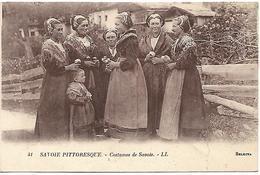 Savoie Pittoresque:Costumes De Savoie - Costumes