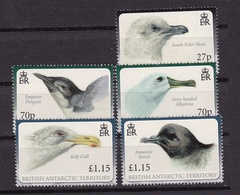 Territoire Antarctique Britannique British Antactic Territory2010 XxManchot - Petrel - Albtros Y&T 502 à 507 - Sauf 503 - Nuovi