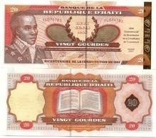 Haiti - 20 Gourdes 2001 Comm. UNC Ukr-OP - Haiti
