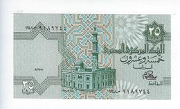 Billet Égypte 25 Piastres - Egypte