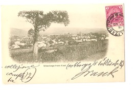 SOUTH AFRICA - UITENHAGE FROM EAST - STAMP - MAILED TO ITALY 1902 - ( 2780) - South Africa