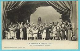 CPA 54 La PASSION A NANCY 1905 Le Triomphe De Joseph - Musiciens - Nancy