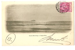SOUTH AFRICA - EARLY MORNING IN ANGOA BAY - STAMP - MAILED TO ITALY 1902 - ( 2781) - South Africa