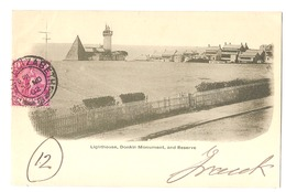 SOUTH AFRICA - PORT ELIZABETH - DONKIN MONUMENT AND RESERVE - STAMP - MAILED TO ITALY 1902 - ( 2782) - South Africa