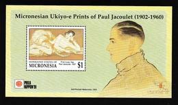 Micronésie1991xxNus Féminins - Peinture - Paul Jacoulet - Phila NipponY&TBF 12 - Micronésie