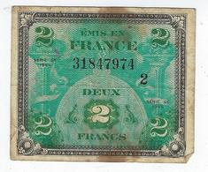 Billet France 2 Francs 1944 - Bonds & Basic Needs