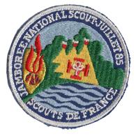 Ecusson Scout De France - Jamboree National 85 - Unclassified
