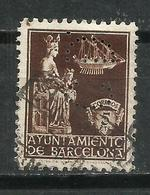 Barcelona. 1940. Virgen De La Merced. Perforación Comercial. C.D. Perfins - Barcelona