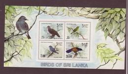 SRI-LANKA 1983   BLOC OISEAUX Y N°B21  NEUF MNH** - Songbirds & Tree Dwellers