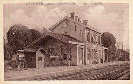 CPA - La FERTé-sur-AMANCE (52) - Aspect De La Gare Dans Les Années 20 - France