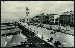 RB 1210 - Postcard - The Promenade & Clock Tower - Herne Bay Kent - England