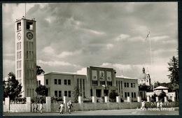 RB 1210 - Real Photo Postcard - The Parliament - Addis Ababa Ethiopia - Ethiopia