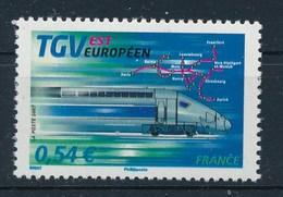 Frankreich 2007 0,54 Euro Postfr. Eisenbahn TGV EST Europeen Lokomotive - Nuevos