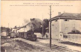 Feillens La Gare Et Route De Pont De Vaux - Autres Communes