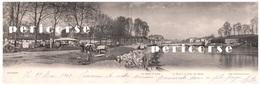 64  Bayonne  La Porte St Léon  Campement Sur La Gauche    (carte Panoramique ) - Bayonne
