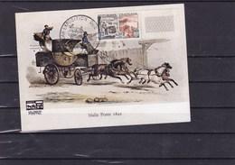 FRANCE : Carte Postale Philatélique Antibes 29/06/64 /Y&T : - Autres