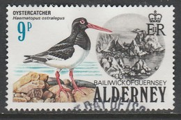 Alderney 1984 Birds 9 P Multicolored SG 13 O Used - Alderney