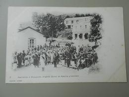 ALGERIE INSURRECTION A MARGUERITTE  CONVOI DE REBELLES PRISONNIERS  PRECURSEUR - Algerije
