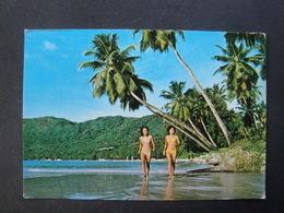 CPM SEYCHELLES - MAHE - BAIE DE BEAUVALLON - Seychelles