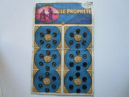 Le Meilleur Bouton à Ressort LE PROPHETE (plaquette De 36 Unités) - Buttons