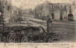 54 GERBEVILLER Après Le Bombardement - Gerbeviller