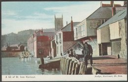 A Bit Of St Ives Harbour, Cornwall, C.1910 - Hodge Postcard - St.Ives