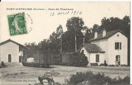 CPA - 70 -  Port D' Atelier  - Gare Du Tramway - - France
