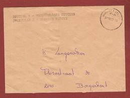 Brief Dienst Onbestelbare Stukken  Brussel X 7/10/1992 - Postmark Collection