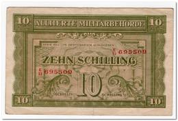 AUSTRIA,10 SHILLING,1944,P.106,VF - Austria