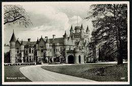RB 1211 - Real Photo Postcard - Balmoral Castle Aberdeenshire Scotland - Royalty Theme - Aberdeenshire