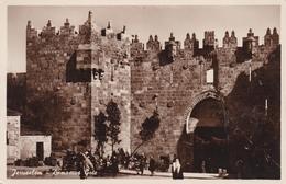 JORDANIE ISRAEL DAMASCUS GATE  BELLE CARTE RARE !!! - Jordan
