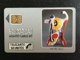 TELECARTE MONACO PRIVÉE MD2 - Monaco
